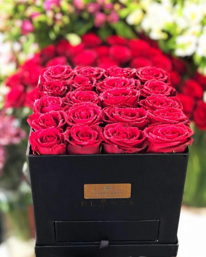جعبه گل هلندی
